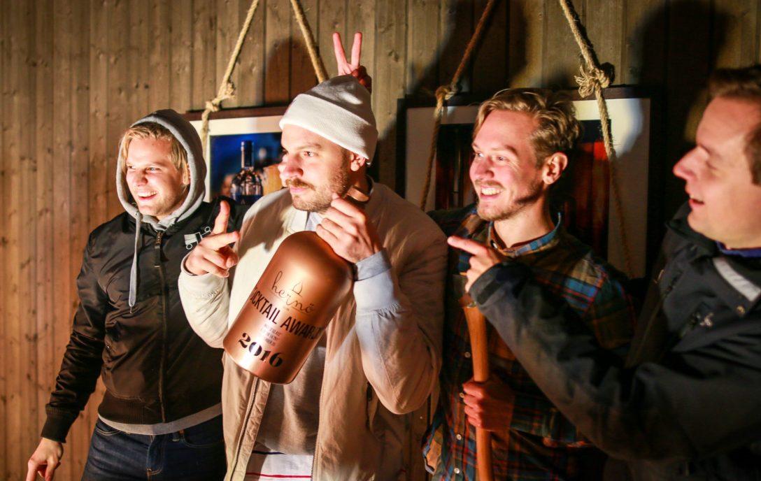Årets vinder af Hernö Gin Cocktail Awards 2016, Tom Surma. Photo by Michael Sperling.