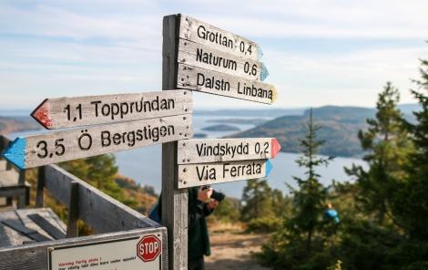 Udsigten fra toppen af Skuleberget. Photo by Michael Sperling.