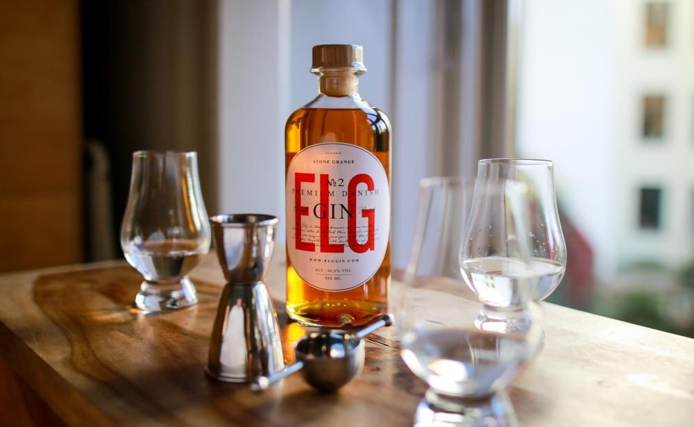 ELG Gin tasting
