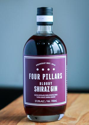 Four Pillars Bloody Shiraz Gin. Photo by Michael Sperling.