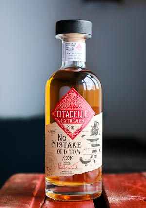 Citadelle No Mistake Old Tom Gin. Photo by Michael Sperling.