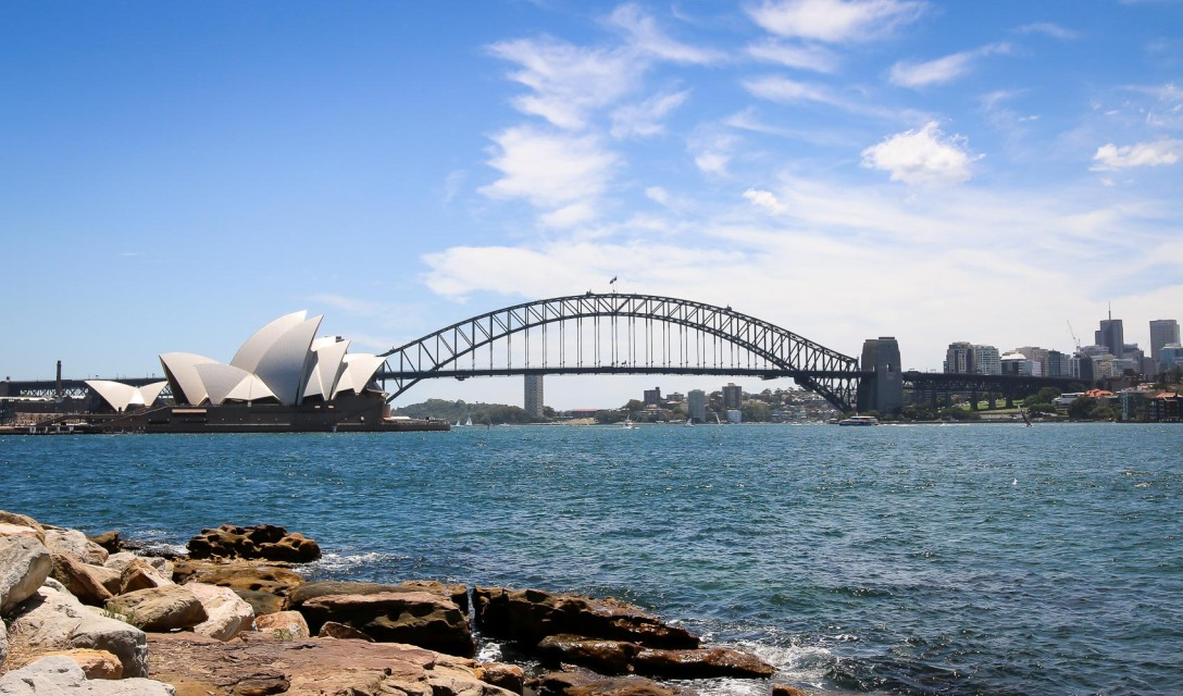 Sydney Harbour. Photo by Michael Sperling.