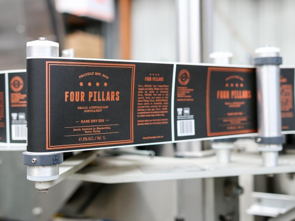 The Four Pillars Distillery. Photo by Michael Sperling.