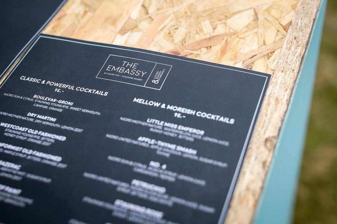 Cocktailkortet. Photo by Michael Sperling