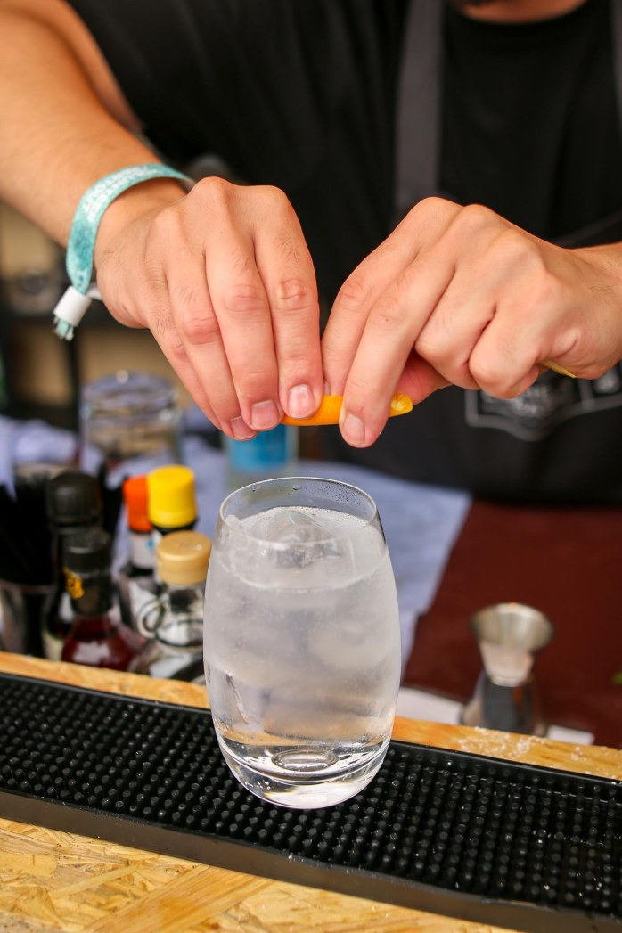 Gin and Tonic. Photo by Michael Sperling
