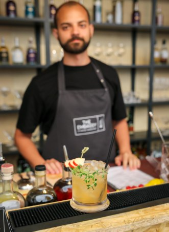 The Apple-Thyme Smash. Photo by Michael Sperling.