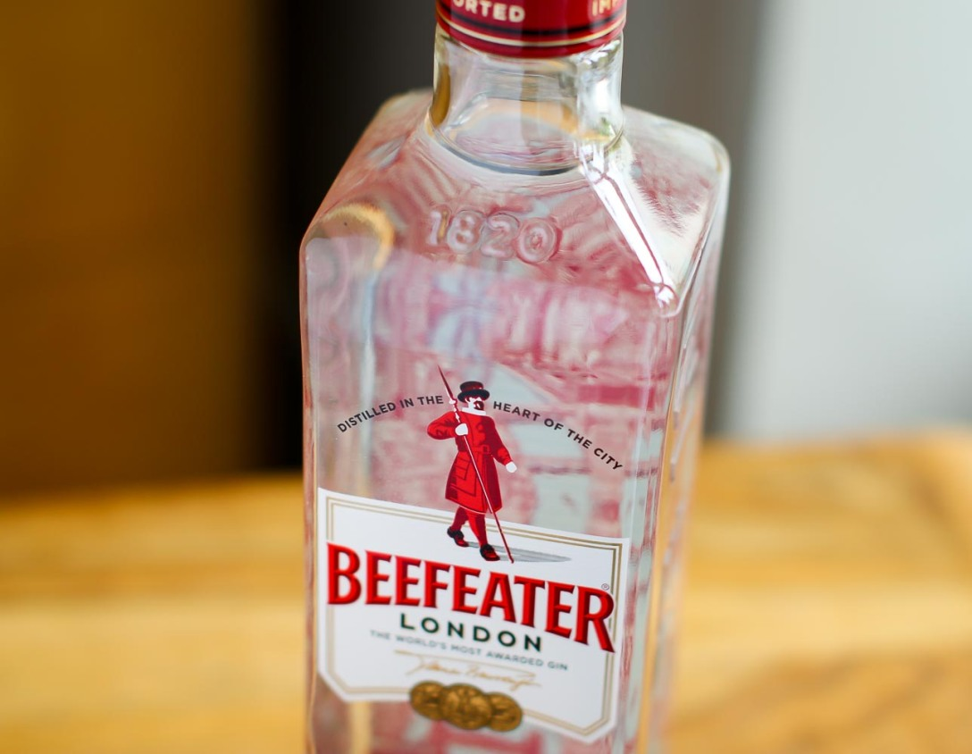 Beefeater London Dry Gin. Photo by Michael Sperling.