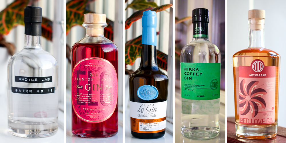 Best gins of 2017. Photos by Michael Sperling.