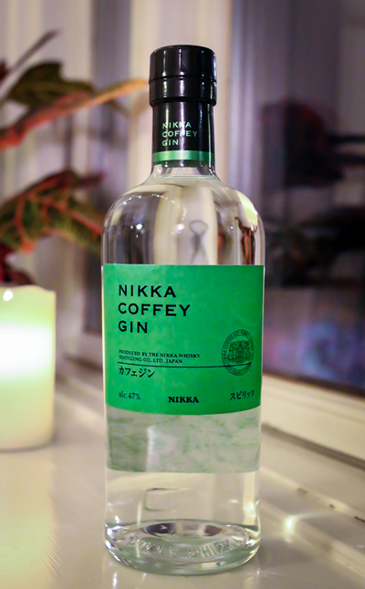 Nikka Coffey Gin. Photo by Michael Sperling.