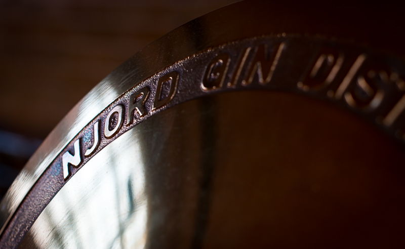 Njord Gin Distillery. Photo by Michael Sperling
