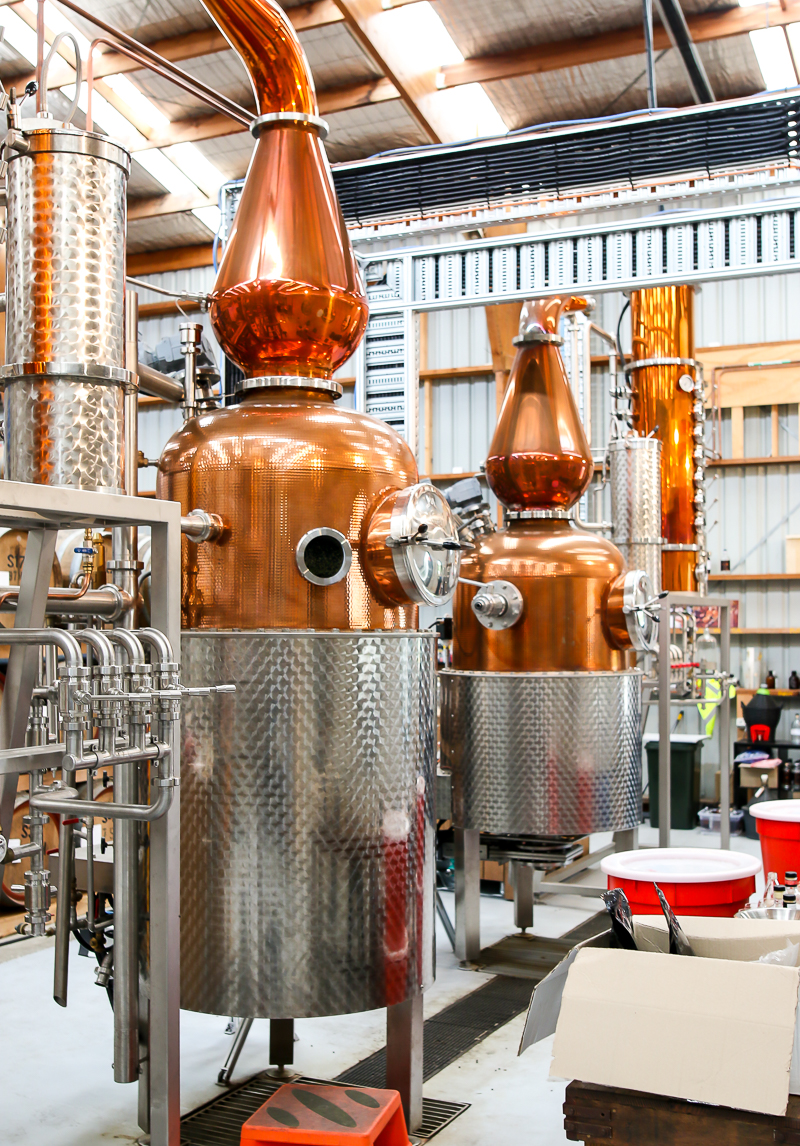 Four Pillars Distillery. Photo by Michael Sperling.