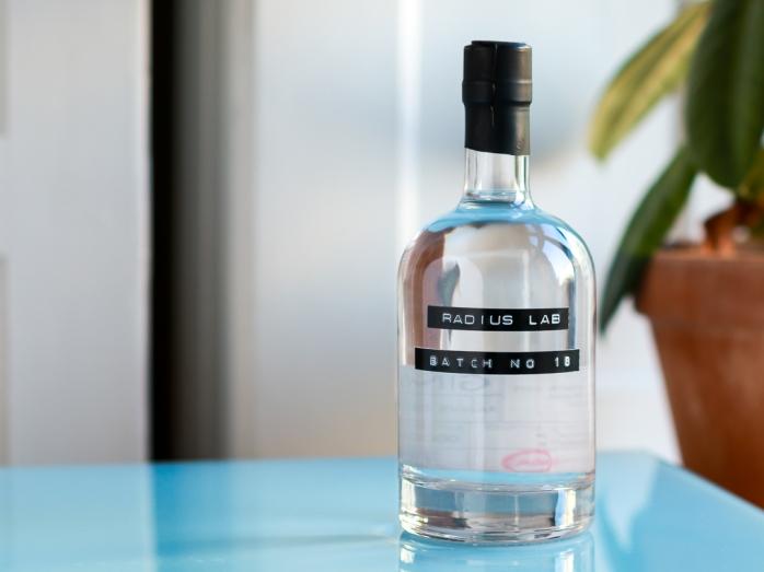 Radius Lab Gin Batch 18. Photo by Michael Sperling.