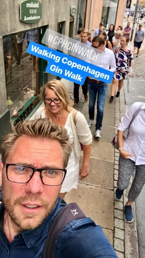 Gin Walkers in Copenhagen! Photo by Michael Sperling.