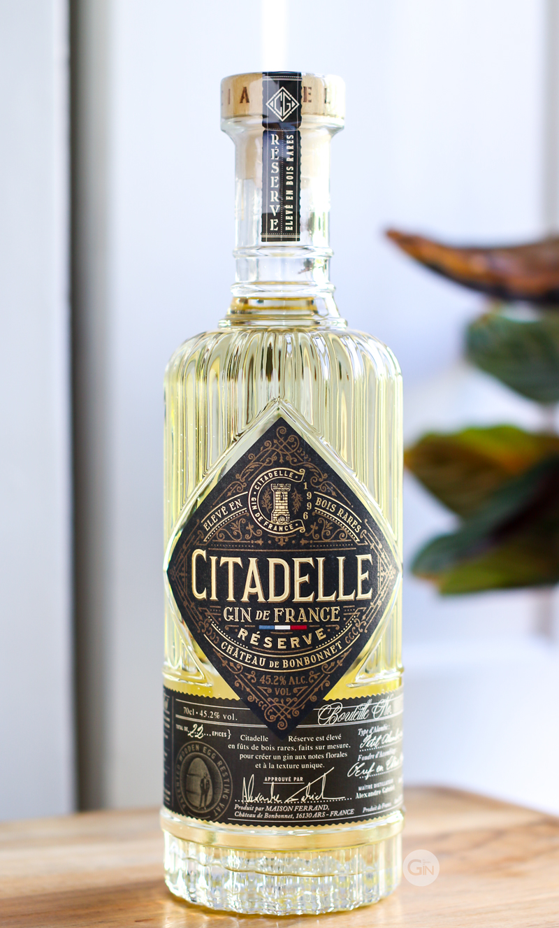 Citadelle Réserve Gin. Photo by Michael Sperling.