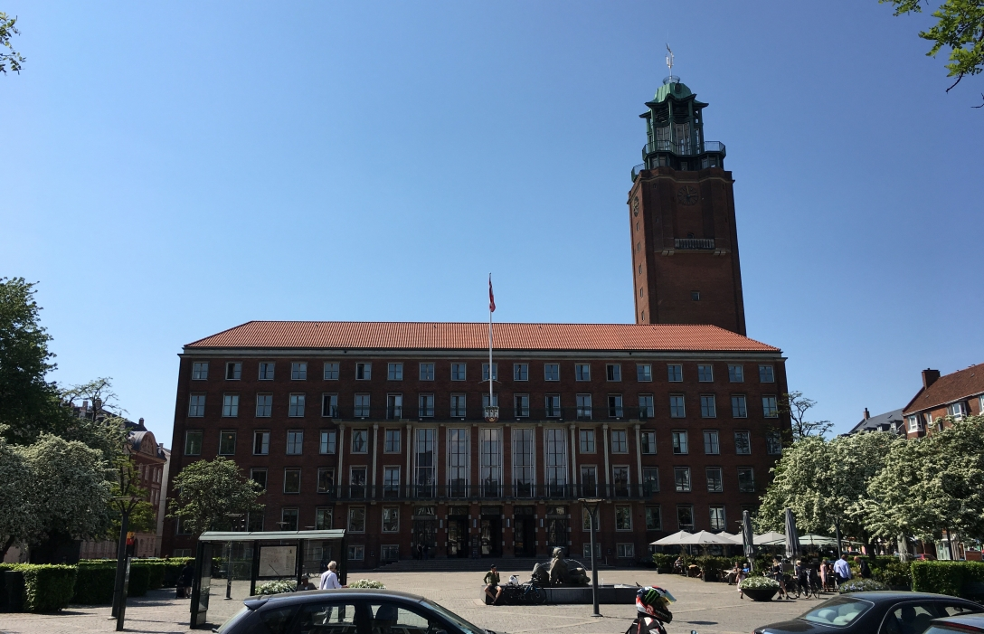 Frederiksberg Rådhus. Photo by Michael Sperling.