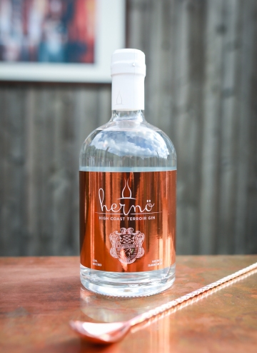 Hernö High Coast Terroir Gin vintage 2018. Photo by Michael Sperling.