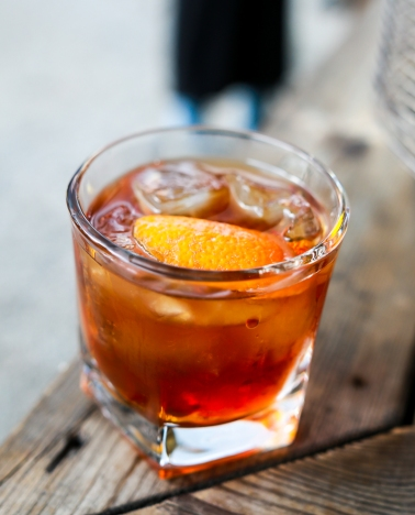 Negroni. Bare fordi. Photo by Michael Sperling.