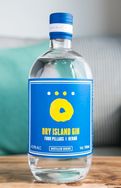 Dry Island Gin - Four Pillars x Hernö. Photo by Michael Sperling.