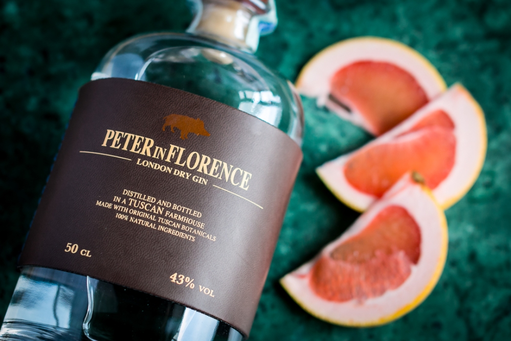 Peter in Florence Gin & Tonic. Photo by Michael Sperling.