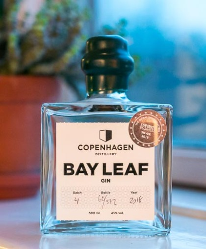 Copenhagen Distillery Bay Leaf Gin. Photo by Michael Sperling.