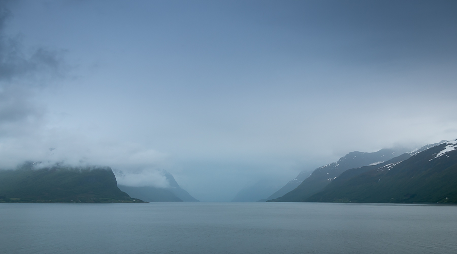 De norske fjorde. Photo by Michael Sperling.