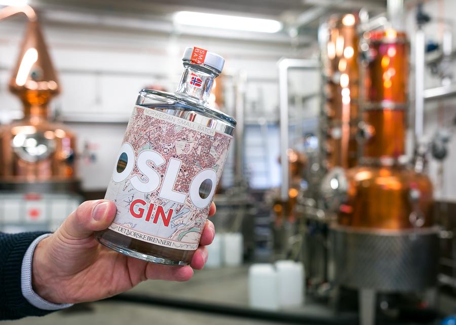 Oslo Gin og Det Norske Brenneri. Photo by Michael Sperling.