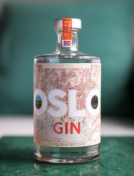 Oslo Gin. Photo by Michael Sperling.