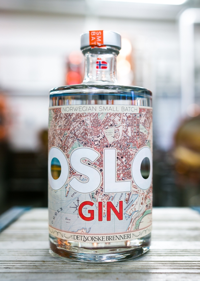 Oslo Gin. Photo by Michael Sperling.