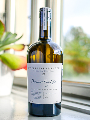 Østersøens Brænderi Premium Dry Gin. Photo by Michael Sperling.