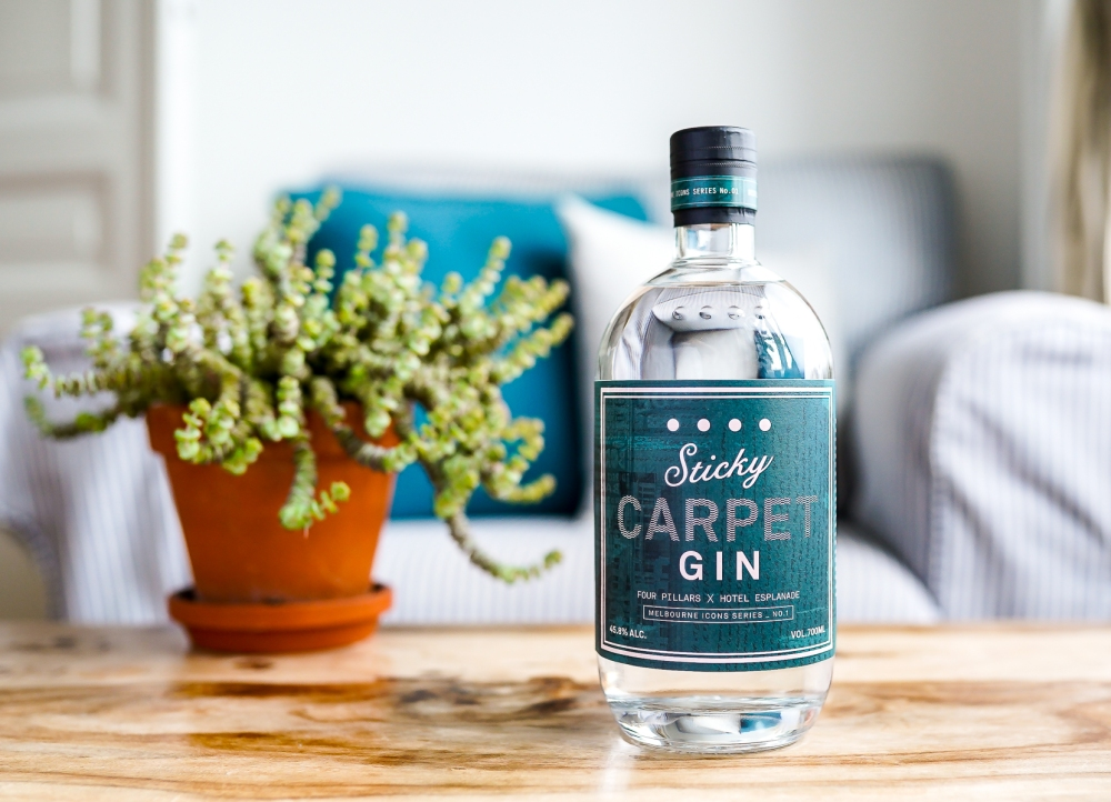 Four Pillars Sticky Carpet Gin. Photo by Michael Sperling.