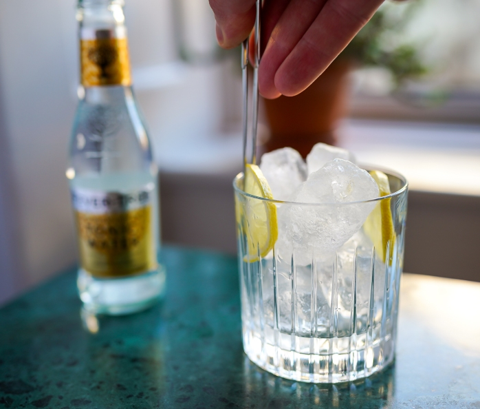 Mosgaard Filippa Gin & Tonic. Photo by Michael Sperling.
