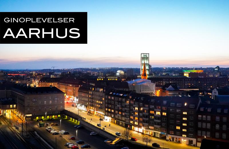 Aarhus by Night. Photo by Michael Sperling