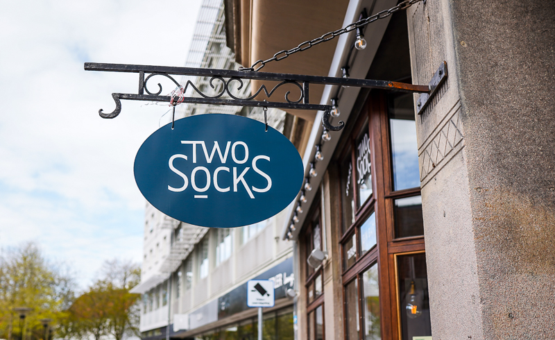 Two Socks Aarhus. Photo by Michael Sperling.