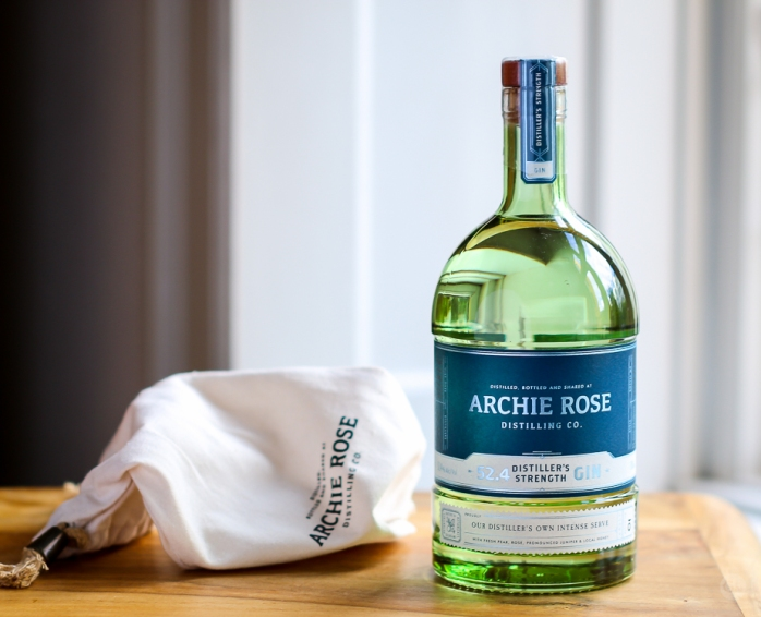 Archie Rose Distiller's Strength Gin. Photo by Michael Sperling.