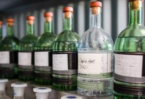 Blending af gin hos Archie Rose Distilling Company. Photo by Michael Sperling.