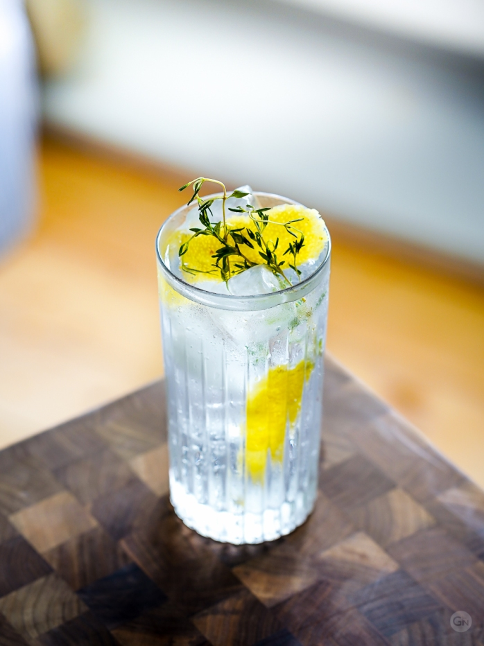 Red Hen Gin & Tonic. Photo by Michael Sperling.