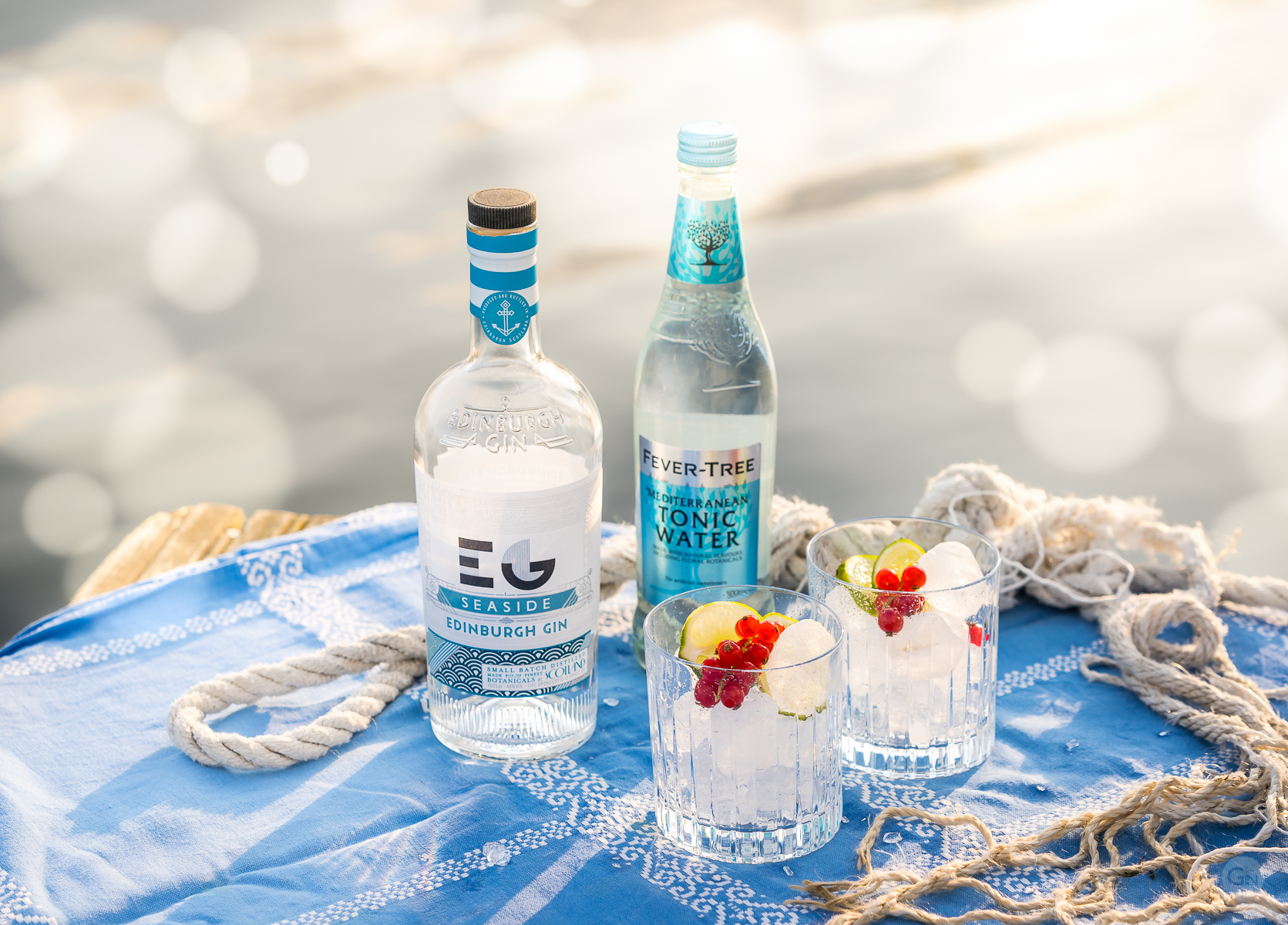 Edinburgh Seaside Gin and Tonic. Photo by Michael Sperling.