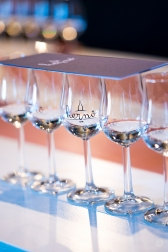 Hernö Gin to taste. Photo by Michael Sperling
