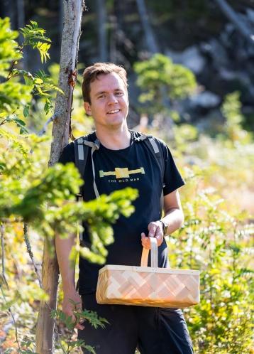 The Old Man Himself, Jon Hillgren fra Hernö Gin. Photo by Michael Sperling