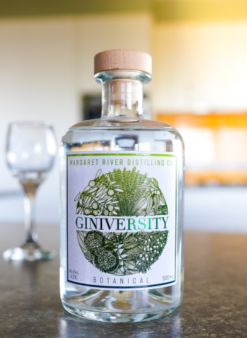 Giniversity Botanical Gin. Photo by Michael Sperling.