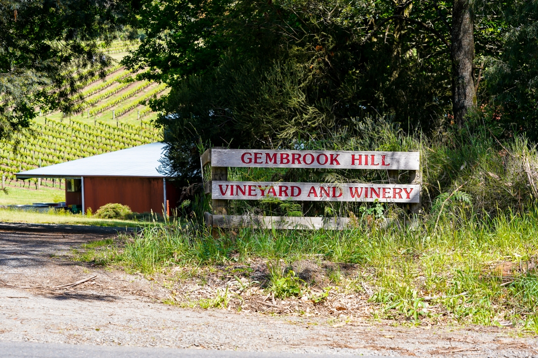 Gembrook Hill Vineyard and Winery hvor The Melbourne Gin Company har til huse. Photo by Michael Sperling.
