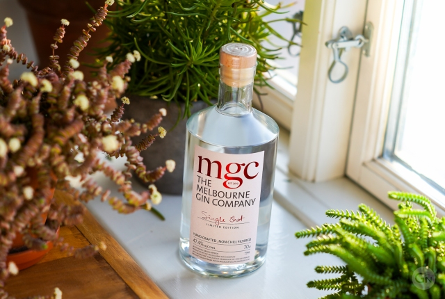 The Melbourne Gin Company Single Shot Gin. Photo by Michael Sperling.