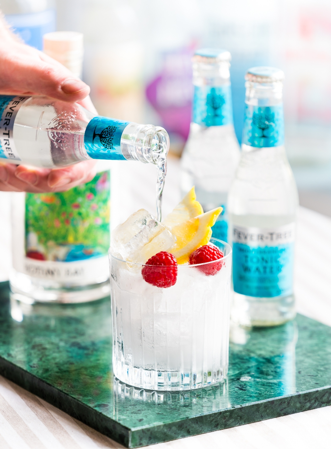 Hernö x Four Pillars Botany Bay Gin and Fever-Tree Mediterranean Tonic. Photo by Michael Sperling.