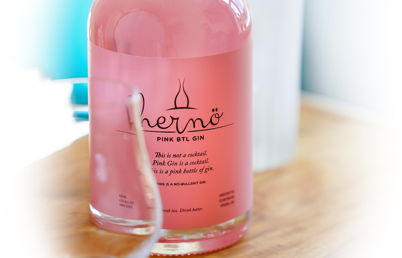 Hernö Pink BTL Gin. Photo by Michael Sperling.