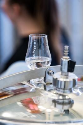 Nydestilleret Bivrost Arctic Gin. Photo by Michael Sperling.