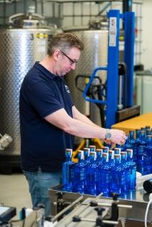 Chief distiller hos Aurora Spirits, Gjermund Stensrud. Photo by Michael Sperling.