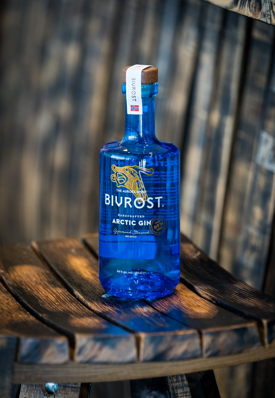 Bivrost Arctic Gin by Aurora Spirits Distillery. Photo by Michael Sperling.